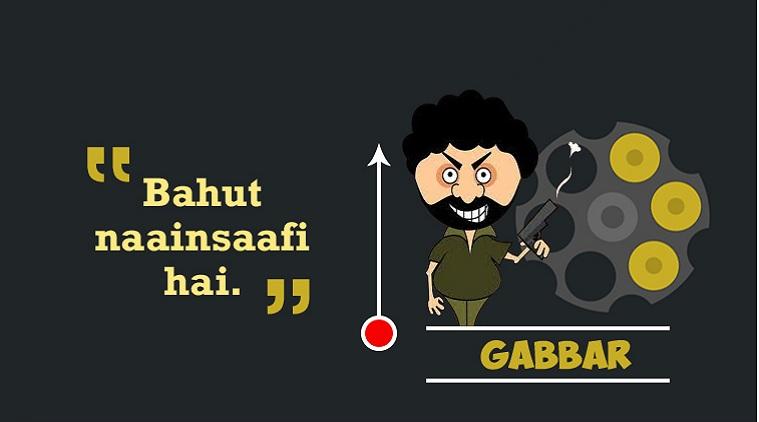 The Bullet Syndrome: Can Gabbar survive Thakur?
