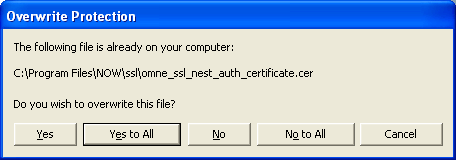 overwrite - NOW Trader SSL Critical Update Patch