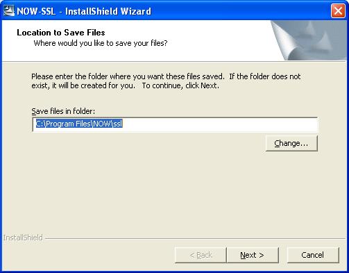 save folder - NOW Trader SSL Critical Update Patch