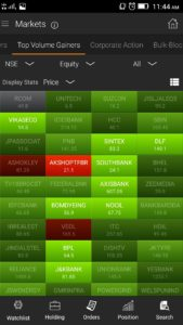 Volume gainers 169x300 - SINE - Our intelligent mobile trading app