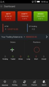 dashboard 169x300 - SINE - Our intelligent mobile trading app