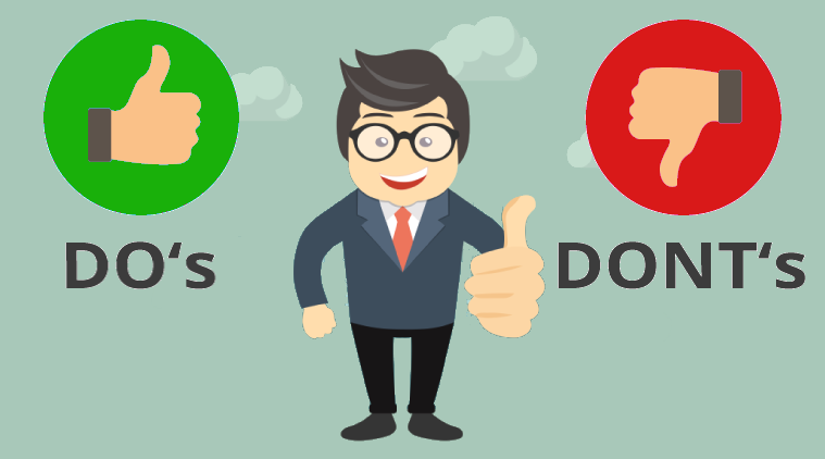 Do's and don't of Online Stock Trading Account